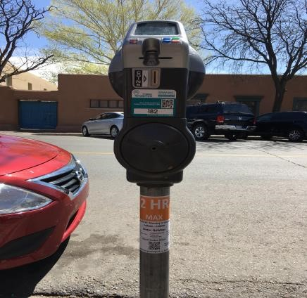 Parking Meter Decal
