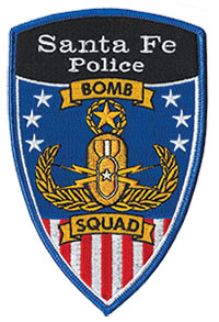 SFPD Bomb Squad Patch