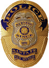 Sante Fe Police Department Badge