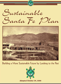 Sustainable Santa Fe Plan Cover