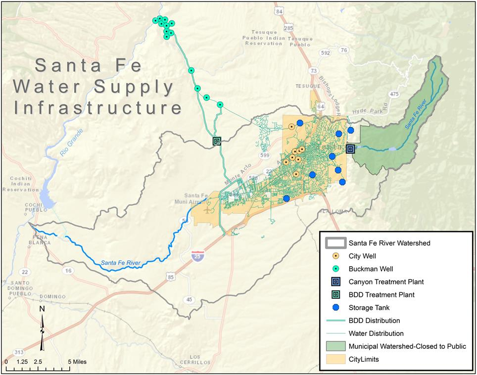 Where Does Our Drinking Water Come From  City Of Santa