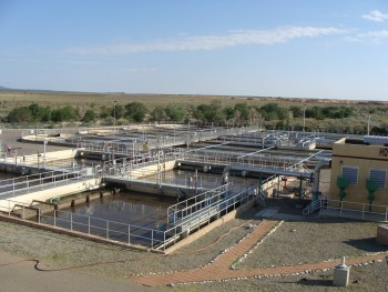 Image of Wastewater Treatment Plant