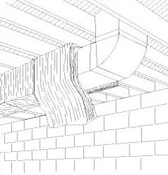 HVAC Plenums and Ducts in Unconditioned Space Insulated to R