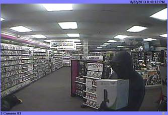 Video GameStop Armed Robbery