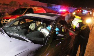 DWI Checkpoint SF New Mexican pic