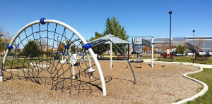 Photo of play equipment at Genoveva Chavez Community Center Park