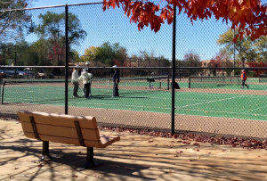Photo of tennis courts at Herb Martinez Park