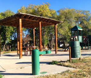 Photo of Maclovia Park shade structure