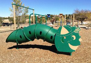 Photo of play equipment at Frank S. Ortiz Park