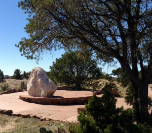 Photo of Japanese Internment Camp memorial at Frank S. Ortiz Park