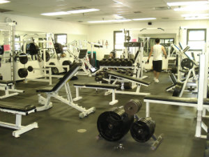 Photo of Ft. Marcy weight room