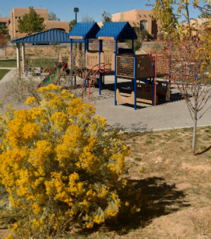 Photo of play equipment at Rancho del Sol Park