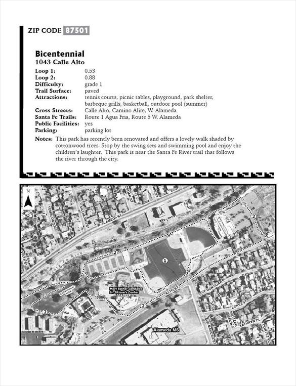 Image of Bicentennial Park Prescription Trail guide