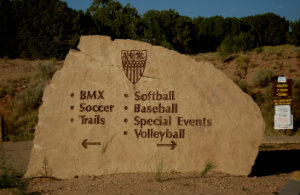 Photo of Municipal Recreation Complex sign